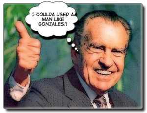 Nixon and Gonzo