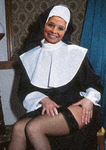 Brisket, the naughty nun