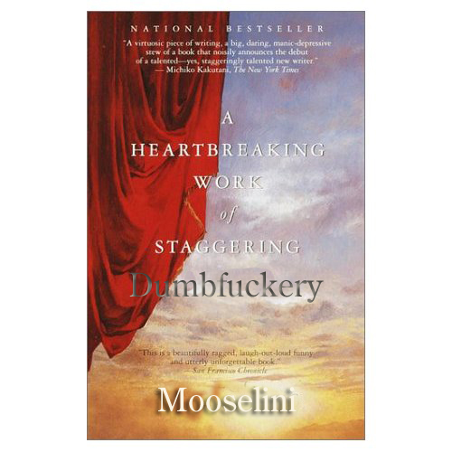Mooselini will be speaking, and no doubt trying to sell her remaindered books.