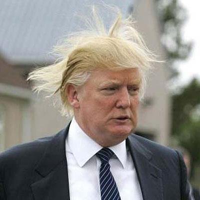 Short-fingered vulgarian Donald Trump