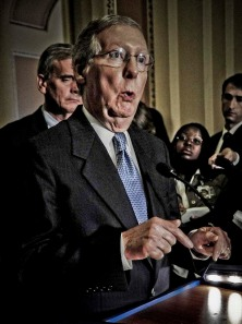 Chinless Mitch explains the birds and bees, or what he is about to do to the country?
