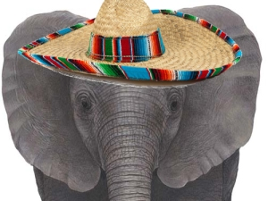 The GOP's 5-ton Oléphant Is Outside Their Big Tent