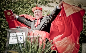 Somewhere, Cardinal Dolan is smiling.
