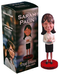 Mooselini Bobblehead Doll