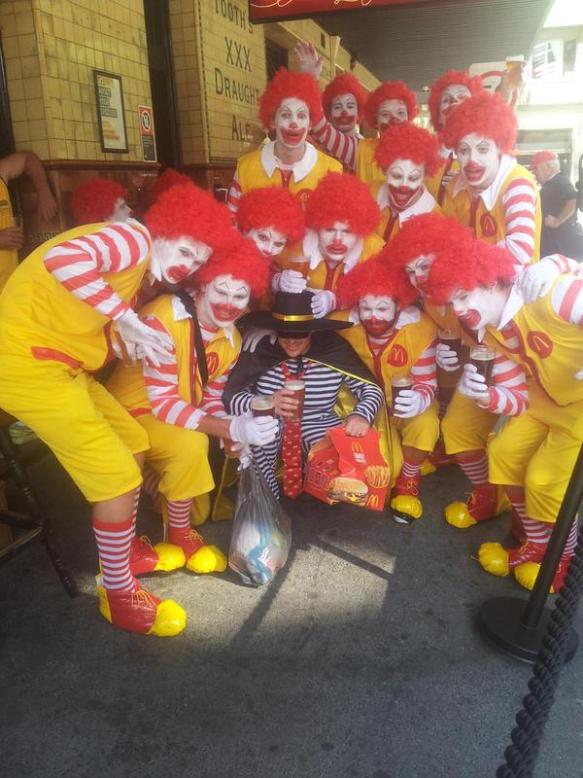 McDonalds Clowns