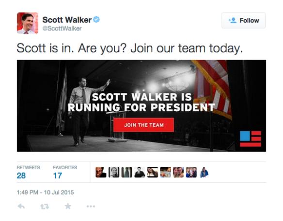 Walker Tweet