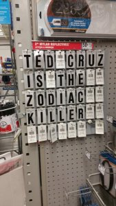 Z is for Zodiac, a letter in Cruz' name!