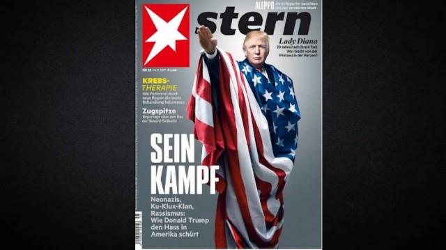 stern magazine, trump hitler salute