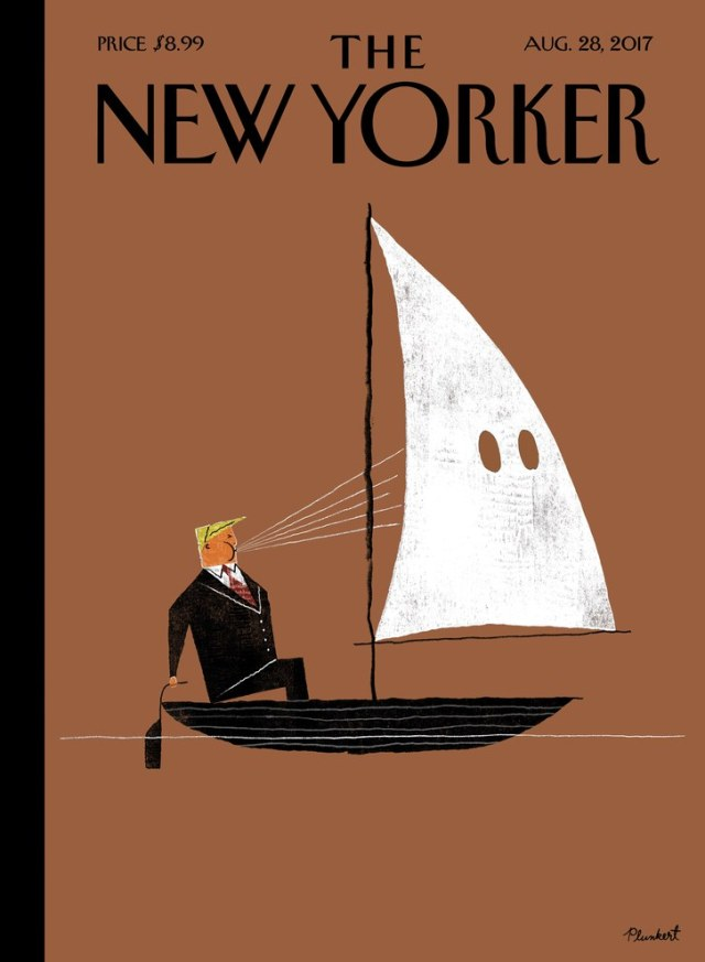 the new yorker, trump white hood